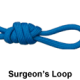 Рыболовный узел Surgeon's Loop